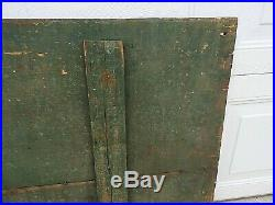 1800s OVER 6' JOHN DEERE QUALITY CHILLED PLOWS WOOD SIGN ORIGINAL & VERY RARE
