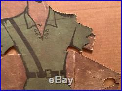 1930s/40s JOHN DEERE RPM PETER PAN GET A FREE DEMONSTRATION CARDBOARD SIGN