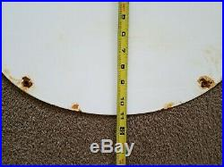 1954 John Deere Farm Sign Oval Agriculture Feed Seed