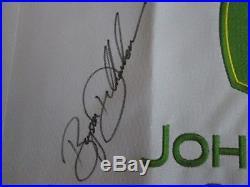 2017 John Deere Classic Flag Signed/Auto Bryson DeChambeau