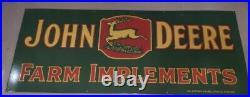 60x24 John Deere Porcelain Enamel Sign Mancave Garage 5 FEET LONG! Heavy