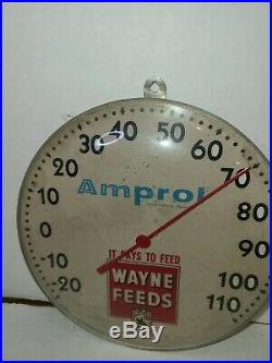 Amprol Thermometer and Wayne feeds