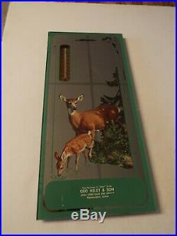Antique John Deere advertising thermometer Geo Heldt & Son Hawarden, Iowa IA