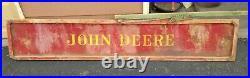 Antique john deere sign, very large