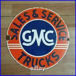 Assorted 15pc Gmc, John Deere & Flo's Vintage Porcelain Enamel Sign 12 Inches