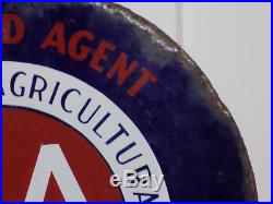 Authorized Agent The American Agricultural Chemical Company Flange Sign