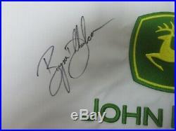 BRYSON DECHAMBEAU Autographed Signed JOHN DEERE CLASSIC PIN FLAG