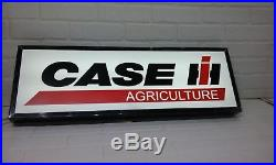 Case International agriculture Lighted sign 30x10 inch 3 inches deep