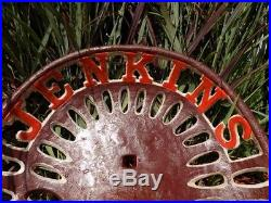 Cast Iron Tractor Seat Country Farm Implement Sign Fits John Deere Jenkins a35