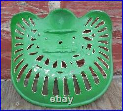 Cast Iron Tractor Seat Country Farm Implement Sign Fits John Deere Sattley A41