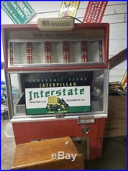 Caterpillar Interstate John Deere Sign Dealership Farm Tractor Gas Oil Barn