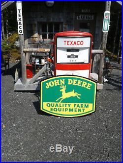 Classic 37 Inch John Deere Sign