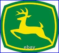 Classic Green Yellow John Deere 36 Heavy Duty USA Made Metal Advertising Sign