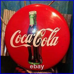 Coca-Cola bottle Button Sign Display Interior Penny Japan ER