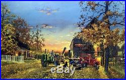 Dave Barnhouse A Time of Plenty Farm John Deere Art Print Signed and Numbered