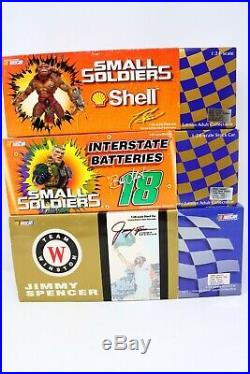 Die Cast 124 Lot of 11 Racing Champion, Team Caliber, Action, Hot Wheels Signed