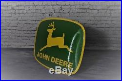 Enamel sign John Deere 16x19 inch