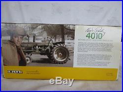 Ertl 1/16 John Deere 4010 46a Loader Farm Toy Tractor Elvis Presley Signed Rare