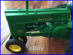 Ertl John Deere 1953 Model 70 Tractor 18 Scale Model Signed by Joeseph L. Ertl