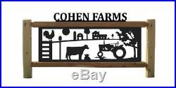 Farm Signs Cows Antique John Deer Tractors Farm & Ranch Decor
