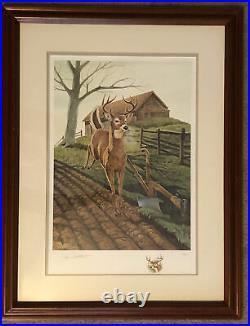 JOHN DEERE 150th Misty Morning JOHN RUTHVEN Signed & Numbered 338/1500 Print