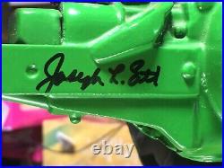 JOHN DEERE 1939 MODEL B 1/8 SCALE HUGE TRACTOR Signed by Joseph L Ertl