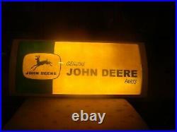 JOHN DEERE Parts sign