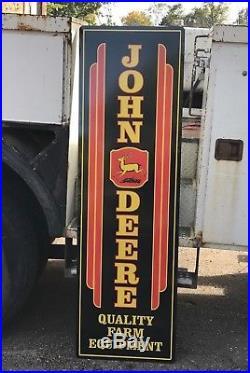 JOHN DEERE SIGN VINTAGE LOOK LARGE 72x22 FARM TRACTOR ADVERTISING SIGN HUGE