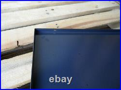 JOHN DEERE Tractors European Quality Heavy Porcelain Enamel Sign with Clock