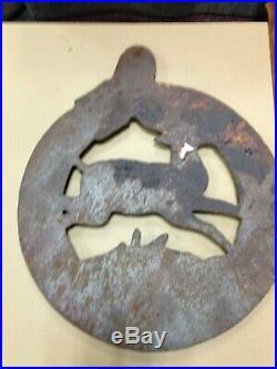 JOHN DEERE VINTAGE CAST IRON PLAQUE 1847 Moline ILL 10 x 12