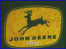 JOHN DEERS Fertilizers Shows Deere -BIG & HEAVY SIGN Needs a Good Cleaning