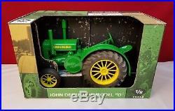 John Deere 1939 Model D Tractor Rubber 1/8 Scale Models Toy Signed by Joe Ertl