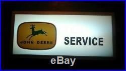 John Deere 4 Legged Themed Lighted Service Sign