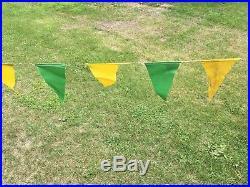 John Deere Cloth Banner Pennet Flags (sign)