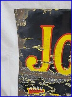 John Deere Farm Implement Porcelain Vintage Collecatable Sign
