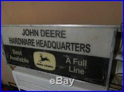 John Deere Hardware Sign