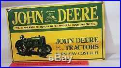 John Deere Heavy Plate Steel Sign