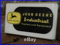 John Deere Industrial Equipment Sign