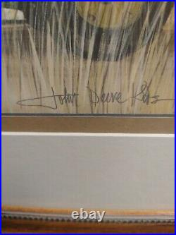 John Deere Kids SIGNED limited run print P Buckley Moss 1690/3547