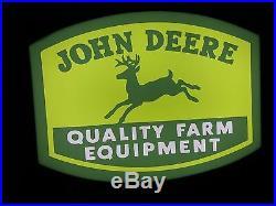 John Deere Lighted Sign