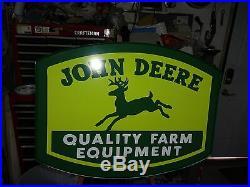 John Deere Lighted Sign for ebay user W900kw ONLY