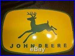 John Deere Porcelain Sign