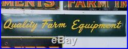 John Deere Quality Farm Equipment Collectable Farming Agriculture Tin Sign
