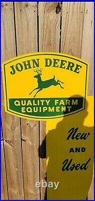 John Deere Rare Original New Old Stock Advertising Sign