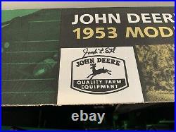 John Deere Scale Models 1/8 Scale 1953 Model 70 Tractor Signed by Joseph Ertl