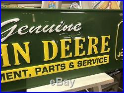 John Deere Sign Read Description
