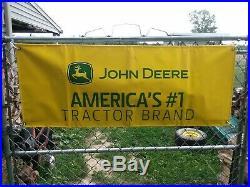 John Deere Signage Display Collectors Banner