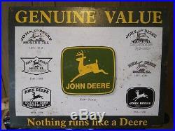 John Deere Vintage signs