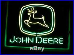 John Deere neon sign new in box FREE SHIPPING