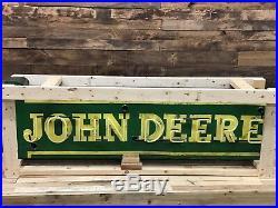 John Deere porcelain face Neon sign original